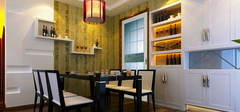 小户型餐厅装修效果图,小家变大家!