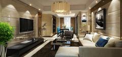 中式客厅装修效果图,传统惊艳美!