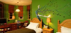 儿童房壁纸选择,打造绿色安全空间!