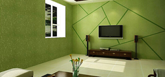 硅藻泥电视背景墙,多样变化!