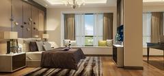 现代新古典风格,神秘复古卧室装修!