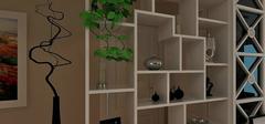 客厅隔断用哪种材质比较好?