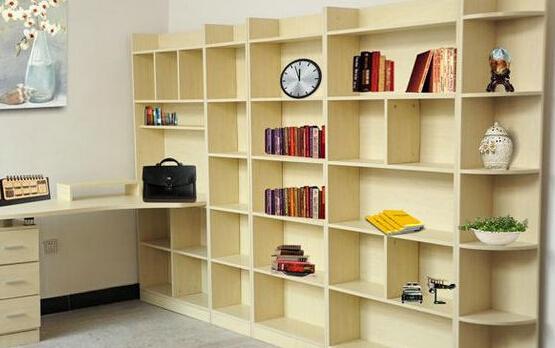 墙上书架设计