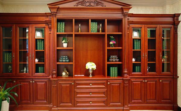 书柜的摆放