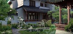 新中式风格景观,传统打造新景象!