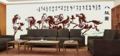 会议室大型壁画效果图以及寓意