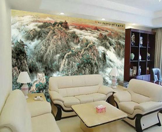 会议室大型壁画效果图
