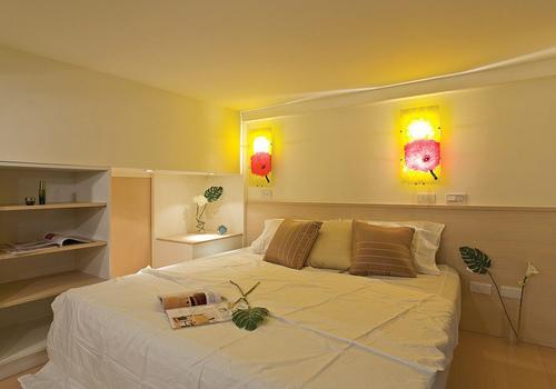 床头壁灯效果图