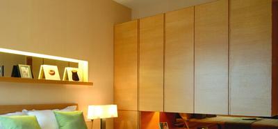 卧室衣柜设计,大小凭空间而论!
