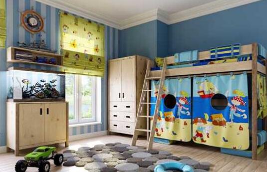 儿童房墙纸选择