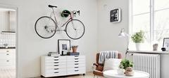 自行车放哪里?自行车家装装饰欣赏