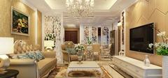简欧风格客厅装修,舒适品味!