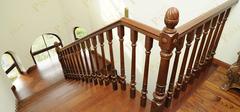 别墅之实木楼梯设计注意哪些问题?