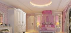 豪华公主卧室应该如何装修?