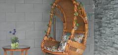 室内秋千椅的材质以及选购技巧