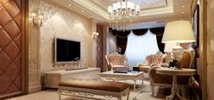 下沉造型客厅装修效果图案例欣赏