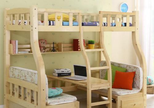 儿童高低床效果图
