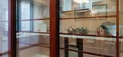 怎样选购厨房玻璃推拉门?