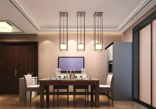 中式壁灯效果图