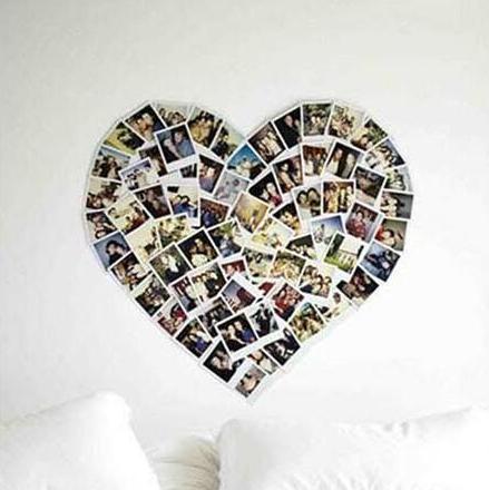 创意实用照片墙案例