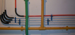 冷热水管安装,五点竭力做到最好!