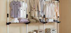 简易衣柜的优点及选购技巧