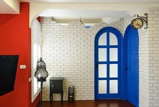 地中海风格卧室门装修