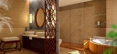 小洗手间装修设计效果图案例欣赏