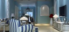 地中海风格装修,打造神话般浪漫环境!
