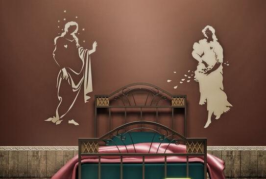 个性墙面装饰效果