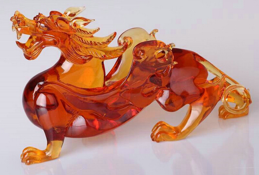 琉璃工艺品特征