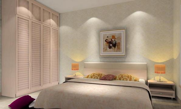 精美卧室组合柜装修效果图