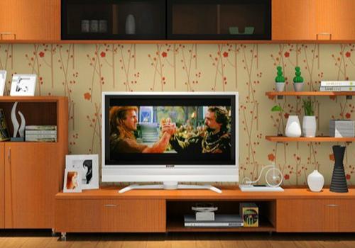 欧式电视柜效果图