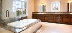 浴室装修用心选材,轻松解乏!