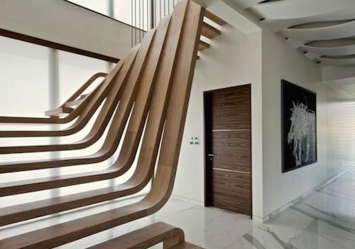 室内楼梯设计效果图