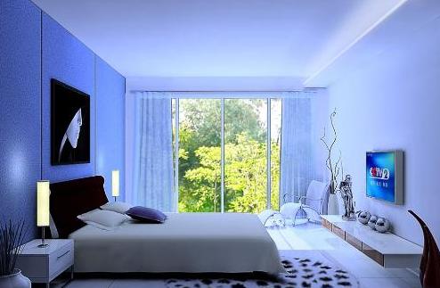 卧室风水布