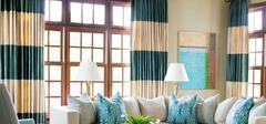 客厅窗帘颜色挑选的原则有哪些?