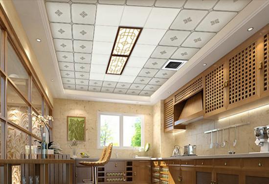 铝扣板吊顶的安装方法与选择