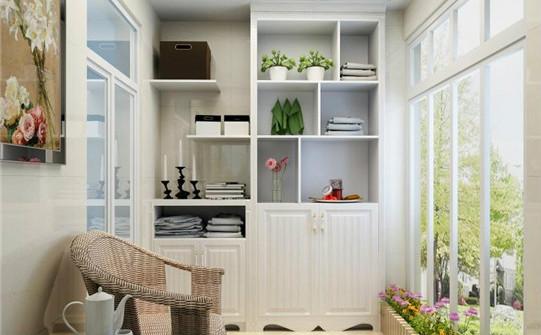 家用阳台储物柜如何设计