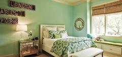 卧室装修舒适为主,好的搭配利于休息!