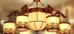 中式吊灯和欧式吊灯有哪些区别?
