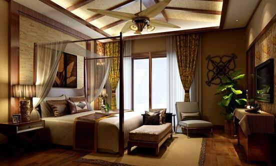 东南亚卧室装修