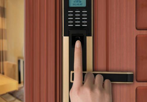 指纹防盗门