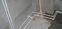 冷热水管安装,水管就该这样装!