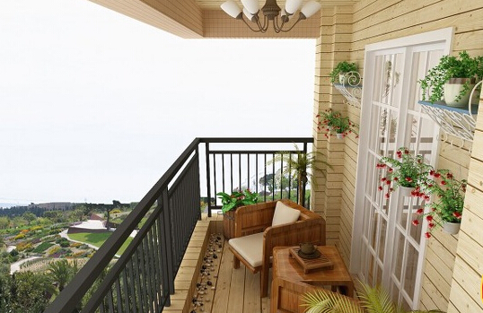 阳台装修风水