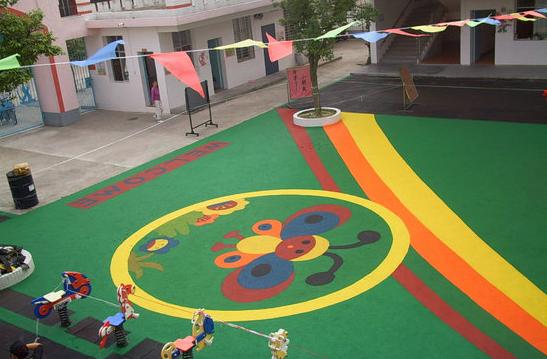 幼儿园塑胶地垫