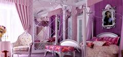 豪华公主卧室装修,实现公主梦!
