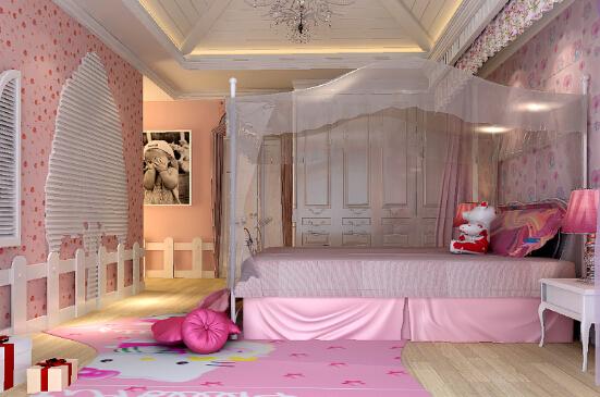 豪华公主卧室装修