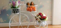 落地式铁艺花架的特点以及花架的种类