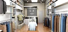 10平米小服装店装修效果图